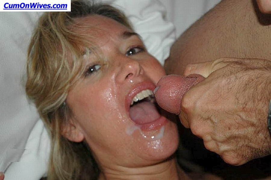 Cleared Revenge porn cum on face was